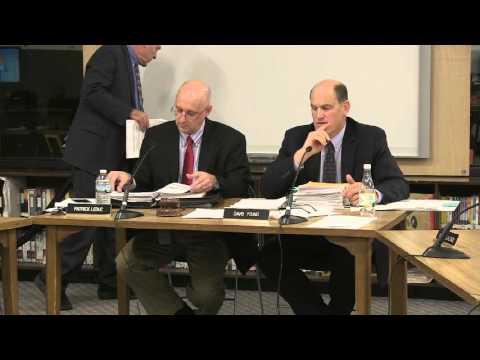 South Burlington School Board Meeting: April 13, 2016