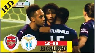 Arsenal vs Lazio 2-0 All Goals and Highlights - 4 Aug 2018