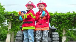 Little Heroes 1 - Firemen Helping Others thumbnail