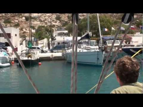 Bareboating & Mooring in the Cyclades (Part 1)