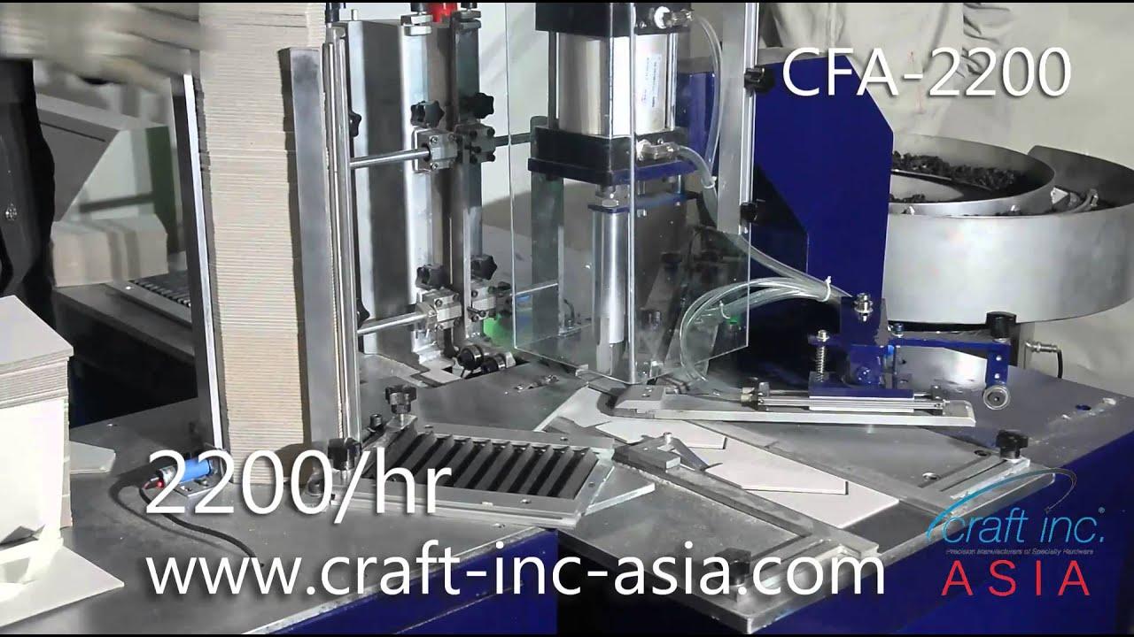Photo Frames Back Easel Hinge Machine Fully Automatic Youtube
