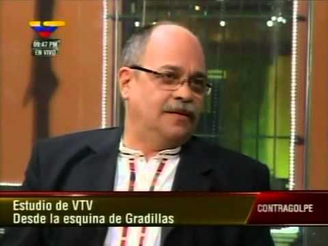 Pedro Calzadilla en Contragolpe el 17 de diciembre de 2012 (2 de 2)