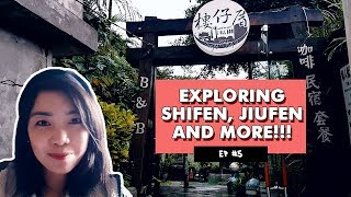 WAYS to TRAVEL to Jiufen and Shifen | Taiwan EP 5