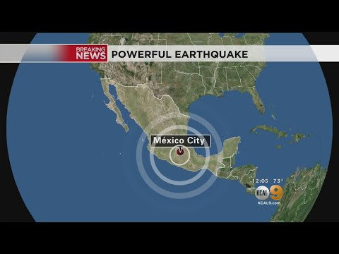 M7.1 Quake Rocks Mexico City On Anniversary Of 1985 Earthquake