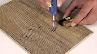 видео Воск для ламината: выбор и применение на стыках и замках