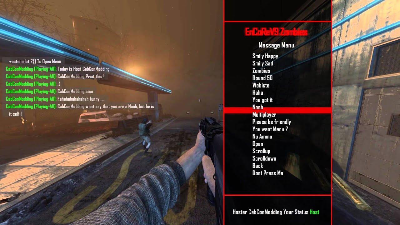 [RELEASE/GSC] 1.19 Bo2 Zombie Mod Menu EnCoRev9 By CabCon ...