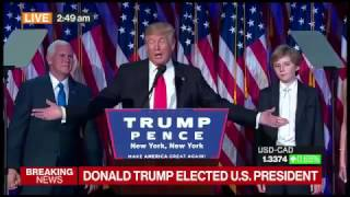 Donald Trump: I Will Be a President for All Americans (FULL VICTORY SPEECH)