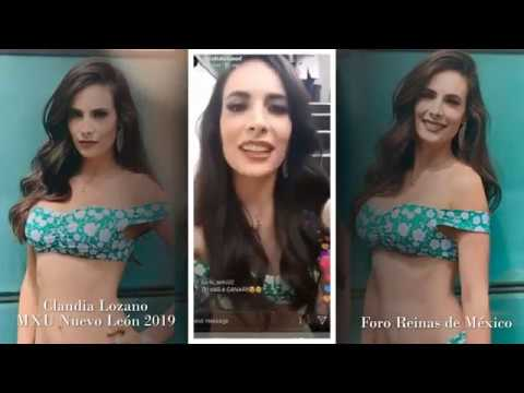 Claudia Lozano - MXU Nuevo León (Live Chat)