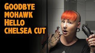 Goodbye mohawk hello chelsea cut