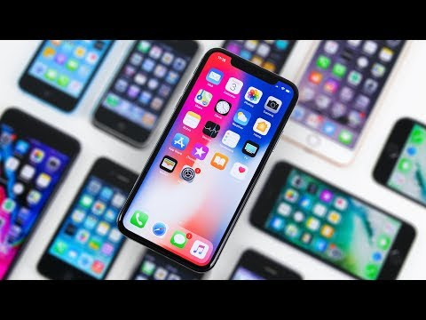 Download Youtube: iPhone X vs Every iPhone Design! - 10 Years of iPhone
