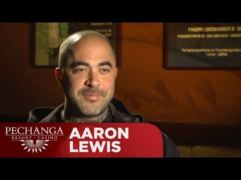Pechanga Casino - Aaron Lewis of Staind Interview