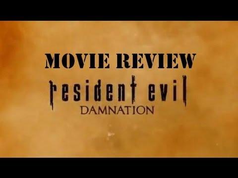 Resident Evil Damnation Movie Review
