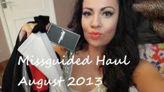 Missguided Haul August 2013 Thumbnail