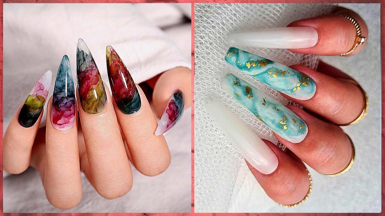20 Stylish Winter Acrylic Nail Designs 😎 New Nails Art 2020   Nails On