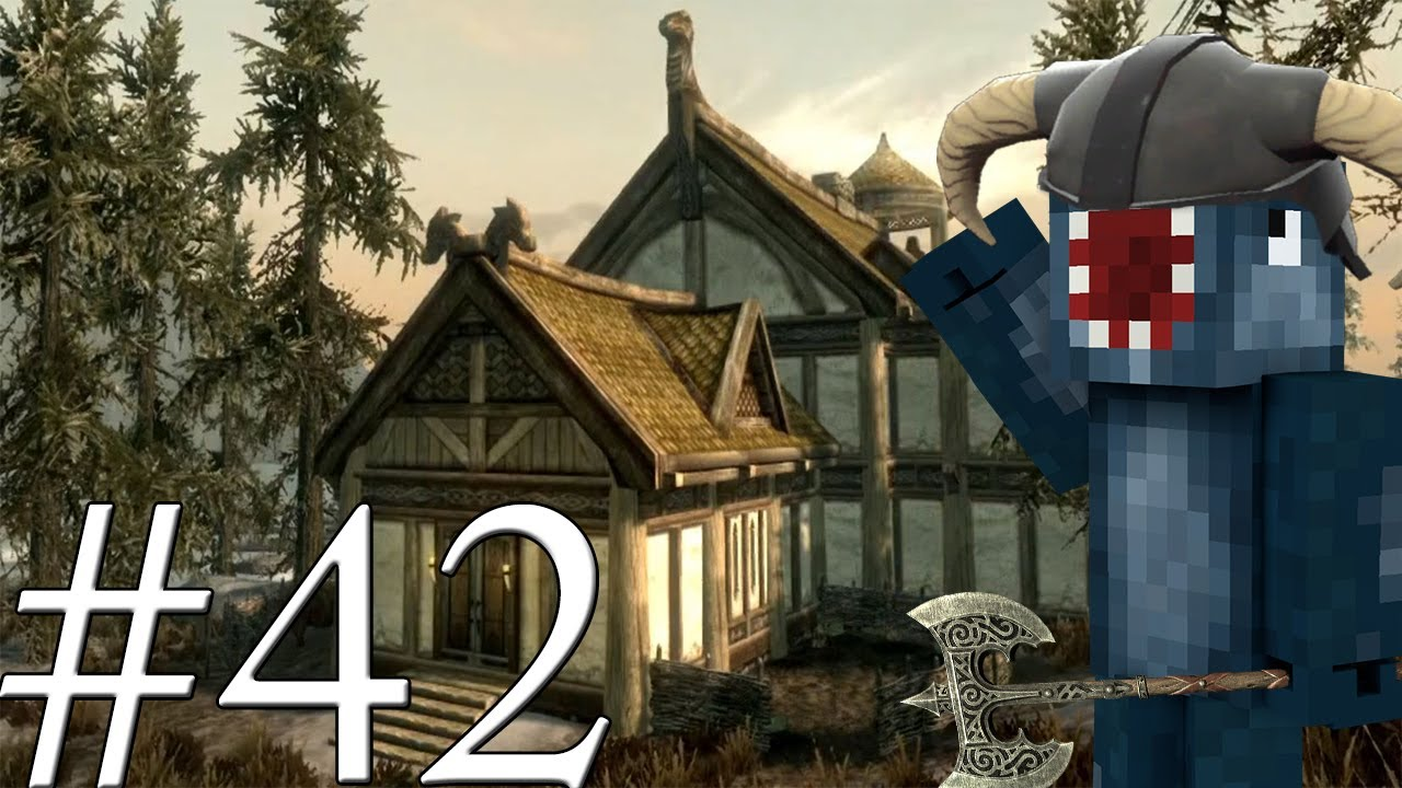 Lets Play Skyrim  Building A House 42  YouTube