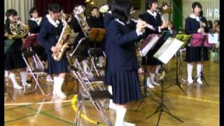 鷹取中学校吹奏楽部コンサート♪