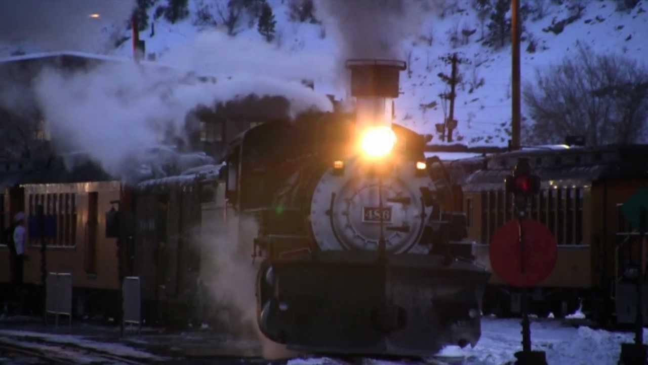 The Polar Express On The Durango And Silverton Narrow