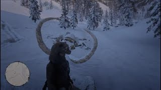 Where To Find The Mammoth Skeleton In Red Dead Redemption 2 / RDR2