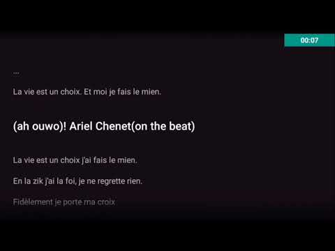 Ariel Sheney - Pour la musique (Paroles)
