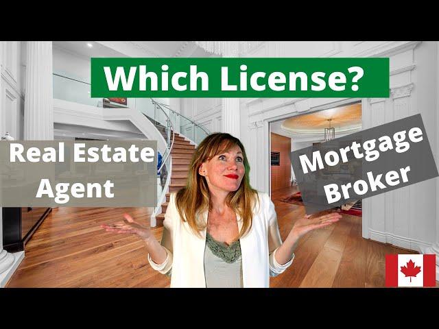 Real Estate License Vs Mortgage Broker Youtube