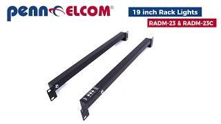 Penn Elcom RADM-23   RacLite: 1U Server Rack Verlichting