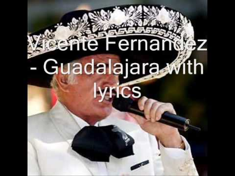 Guadalajara with lyrics