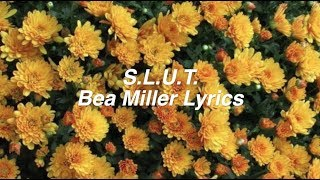 slut bea miller lyrics