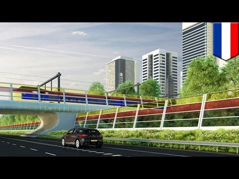 Solar power highway: Dutch university plans to use solar panels as highway noise barriers - TomoNews