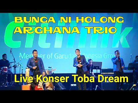 BUNGA NI HOLONG - ARGHANA TRIO | Live Konser Toba Dream