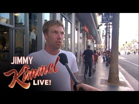 Kimmels Live marijuana interviews
