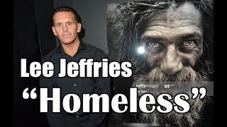 """Lee Jeffries Fotos reales """"Homeless""""."""