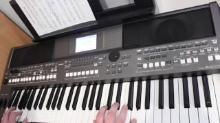 Луч солнца золотого Бременские Музыканты на синтезаторе Yamaha psr s670