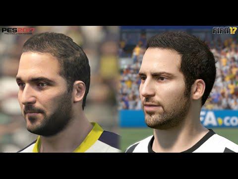 FIFA 17 vs
