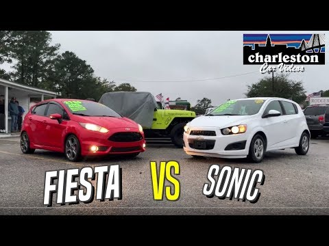 Small American Cars | The Ford Fiesta VS Chevrolet Sonic - Which One Would You Buy? ( Review )