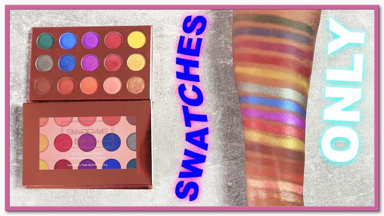ItsMyRayeRaye Shadow Palette by BH Cosmetics #3