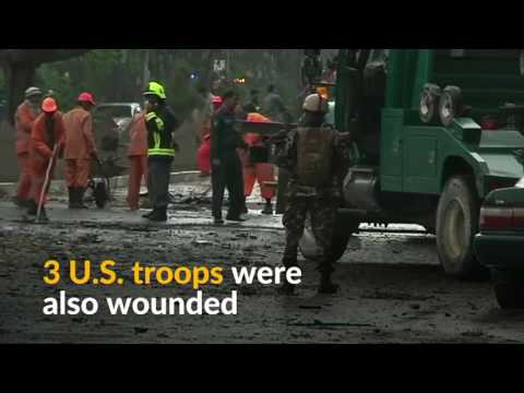 Pakistan ISI-L suicide bomber hits NATO convoy in Afghanistan killing 8 civilians
