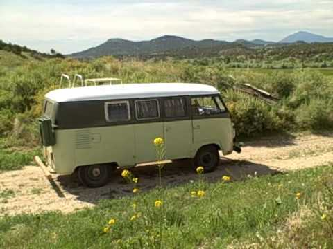 30 yr old restored VW bus
