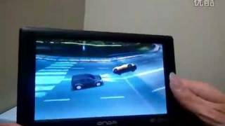 Asphalt 5 gameplay on ONDA VX610W, car racing game