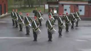 Swedish army drum corps! Astonishing!!!
