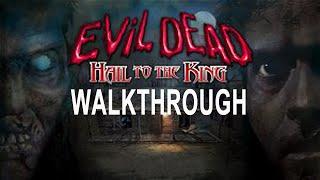 Evil Dead Hail to the King Walkthrough No Death PS1/PSX Part 1/2