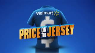 WALMART: Price on the Jersey