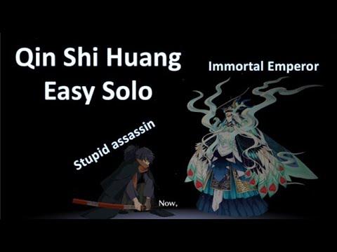 Download [FGO NA] Gilfest - Qin Shi Huang Easy Solo VS Okada Izo