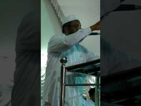 Hubbul Rasool speech CA Nasar Musliyar 9400486565