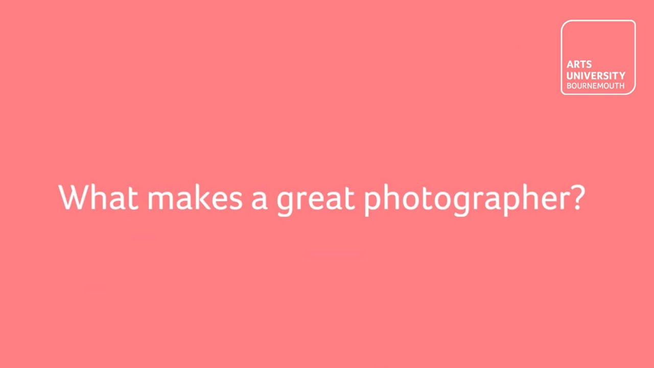 What makes a great Photographer?