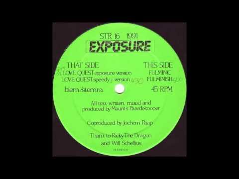 EXPOSURE - LOVE QUEST (EXPOSURE VERSION) 1991
