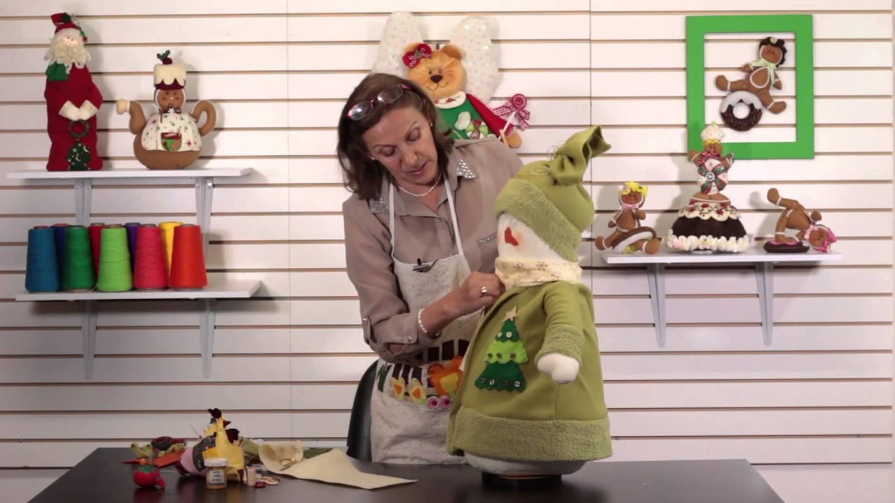 Como hacer mu ecos de nieve para navidad fasil youtube - Munecos de navidad ...