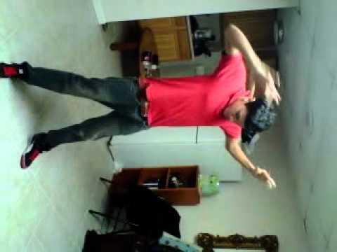 Izzy,Stephen & Tek dancing to Pinball