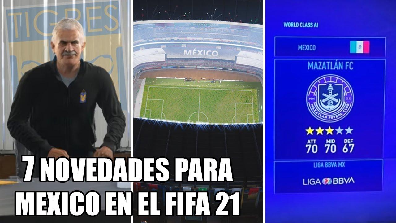 Novedades que habrá en FIFA 21 para México