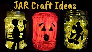 Easy Mason Jar Craft Ideas For Kids Diy Empty Glass Jar Crafts Recycle Jam
