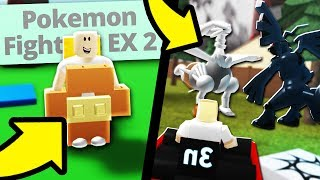 Exposing Fake Pokemon Fighters EX in Roblox!